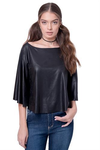 חולצה ולנטינה שחורה