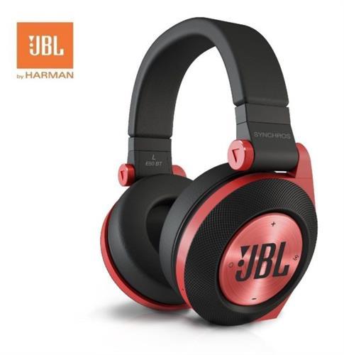 """אוזניות JBL E50 BT Bluetooth, אוזניות קשת אלחוטיות, בעלות דרייבר 50 מ""""מ איכותי עם באסים מודגשים,"""
