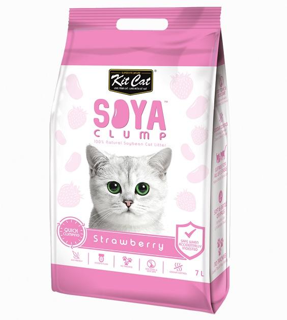 חול לחתולים סויה מתגבש ריחני 7L