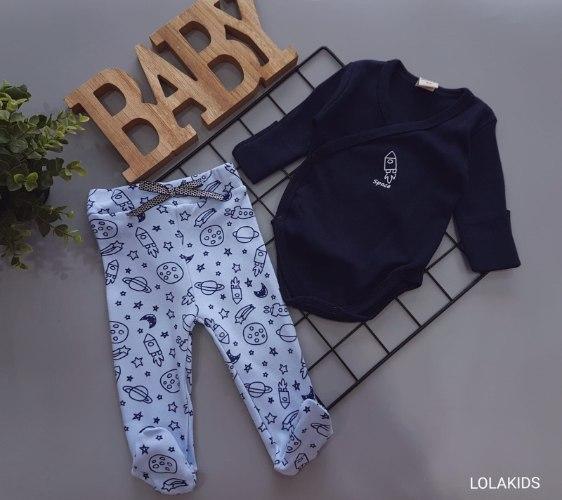 מארז בגד גוף מעטפת+מכנס רגליות דגם 2