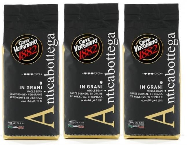 3 קג פולי קפה 100% ערביקה וריניאנו 1882 Caffe Vergnano