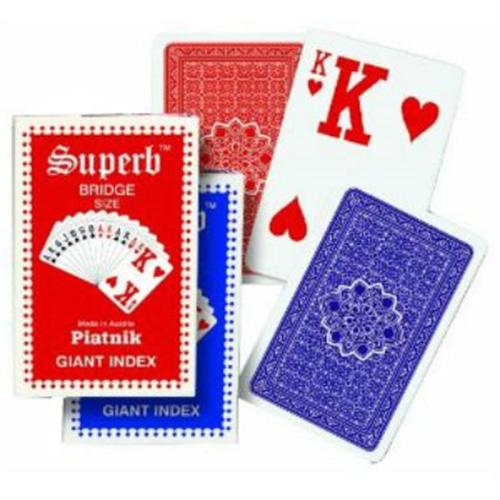 קלפים סופרב כיתוב גדול מאד