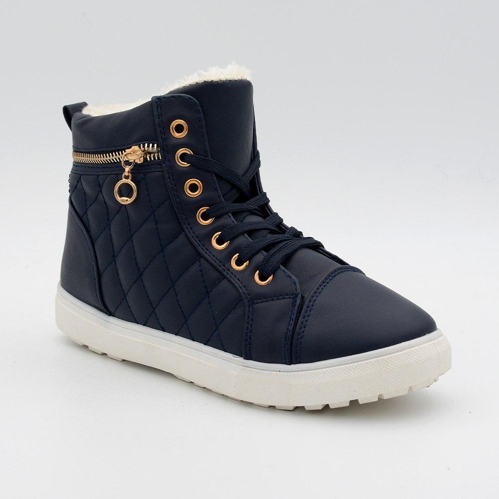 נעל פרווה מונדה - כחול