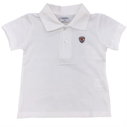 חולצת פולו לבנה