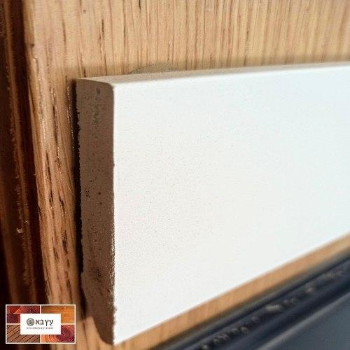 """פנל פולימרי לבן שקוע גובה 6 ס""""מ אורך 2.5 מטר"""