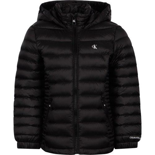 מעיל פוך שחור - Calvin Klein - מידות 4 עד 16 שנים
