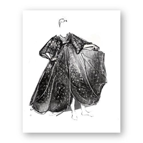 איור אופנה #5