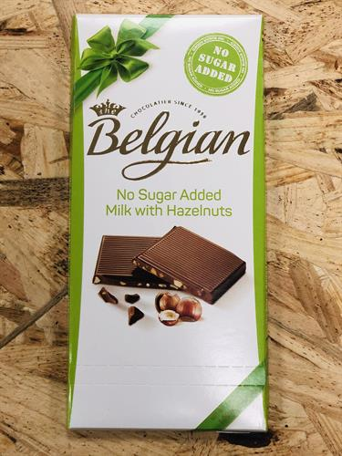 שוקולד חלב בתוספת אגוזי לוז