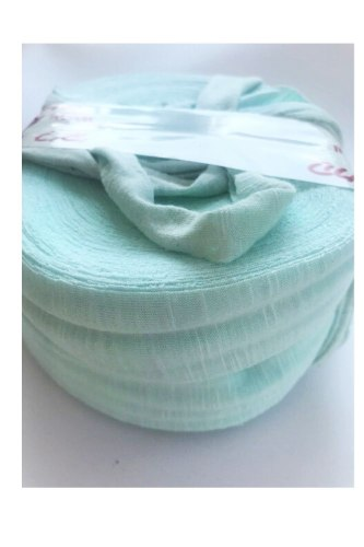 חוטי טריקו לסריגה צבע ירוק מנטה בייבי   מארז של 2 חבילות ב 35 שח