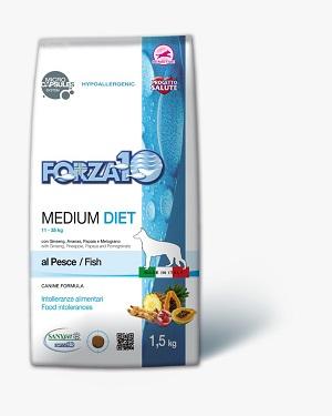 """פורזה מזון היפואלרגני דגים 1.5 ק""""ג"""