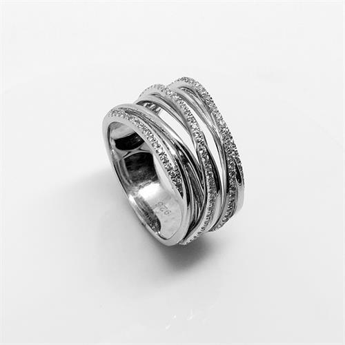 טבעת כסף איטלקית נשים 925 MY07150032852