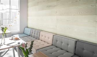 חיפוי קירות פולימרי 100% עמיד במים Kerradeco דגם ''SCANDINAVIAN WOOD''