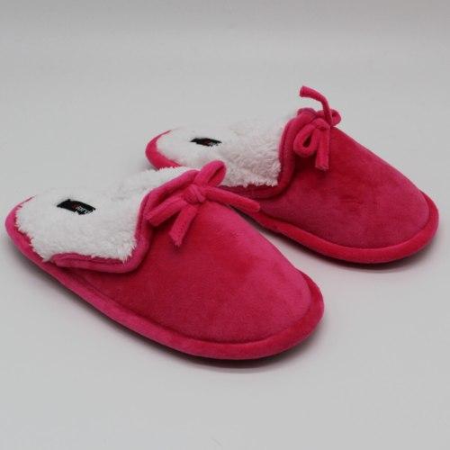 נעלי בית חמות לילדות פוקסיה