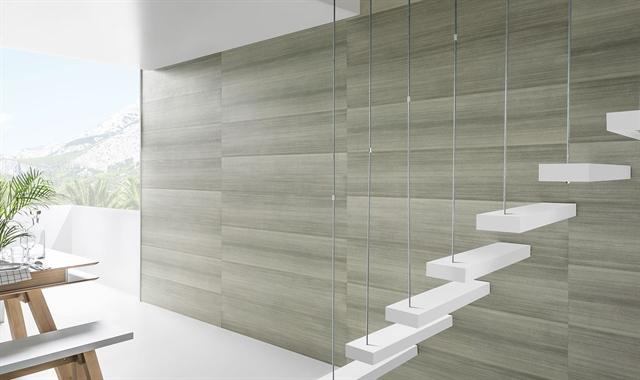 חיפוי קירות פולימרי 100% עמיד במים Kerradeco דגם ''SILVER WOOD''