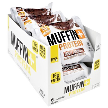 Muffin+|מאפיין חלבון כשר מארז 6 יח