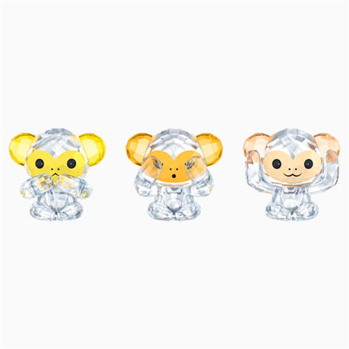 קריסטל SWAROVSKI  THREE WISE MONKEYS