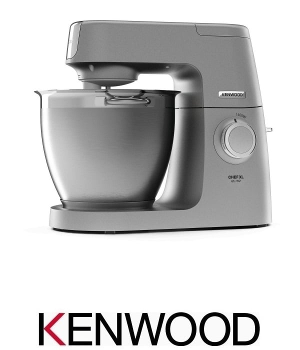 KENWOOD מיקסר שף 6.7 ליטר דגם  KVL6302S עם קערה נוספת מפלטסיק