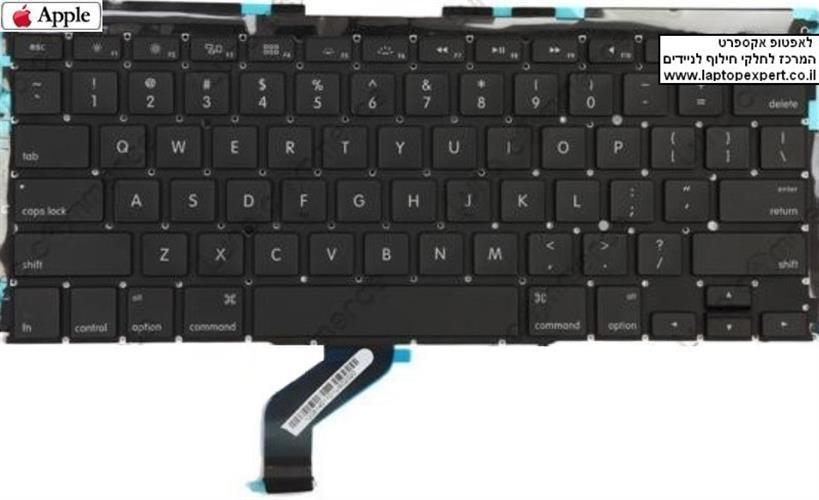 החלפת מקלדת למחשב נייד אפל מקבוק רטינה Apple Macbook Pro Retina 13
