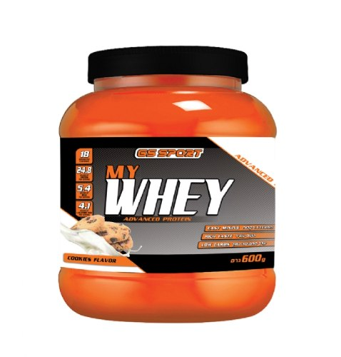 G.S חלבון MY.Whey עוגיות 600 גרם כשר נוטרי קר