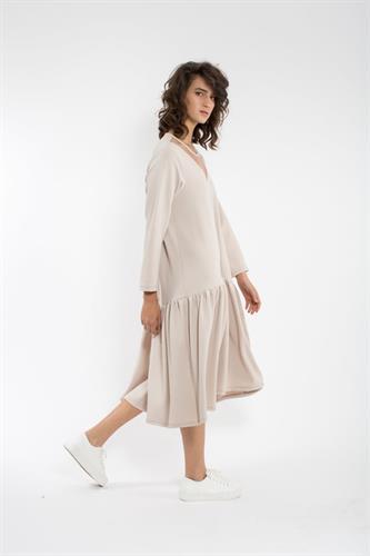 שמלת מיה חורף בז
