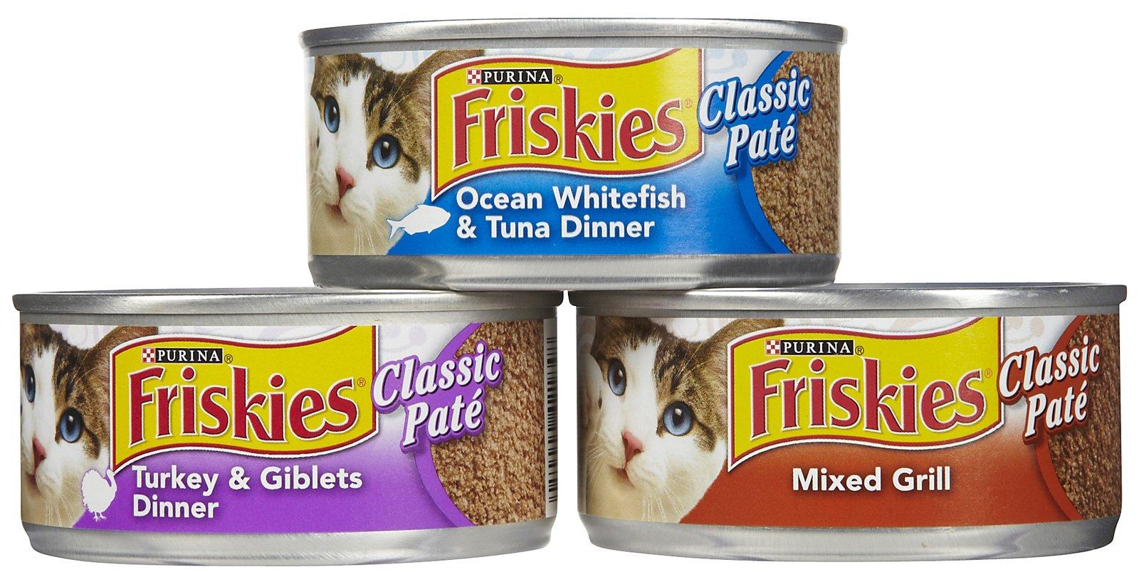 שימורים לחתול פריסקיז 156 גרם בקופסה