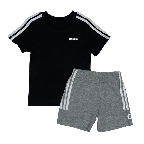 חליפת ספורט ADIDAS - שחור אפור