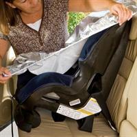 מגן שמש לכיסא בטיחות לתינוק