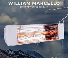 תנור חימום אינפרא אדום Willam Marcello דגם 1000W
