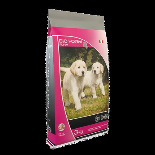 """ביו פורם גורים 3 ק""""ג מזון יבש לכלבים"""