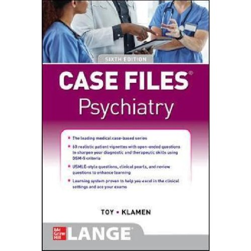 Case Files Psychiatry, Sixth Edition