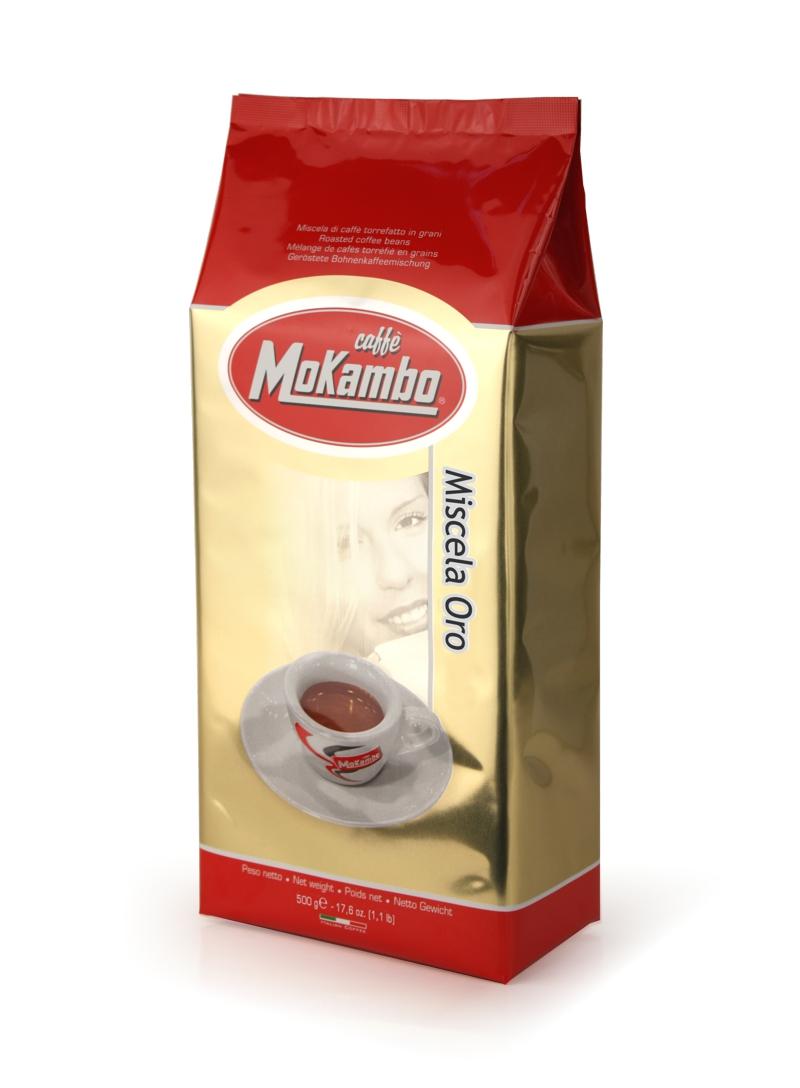 פולי קפה מוקמבו 1/2 קילו - Mokambo Oro