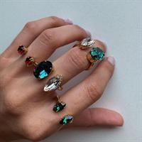 טבעת ניקול כסף