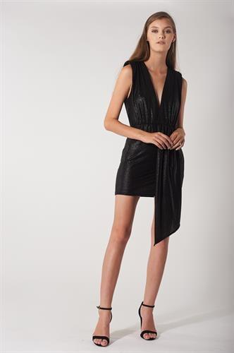 שמלת אניה שחורה