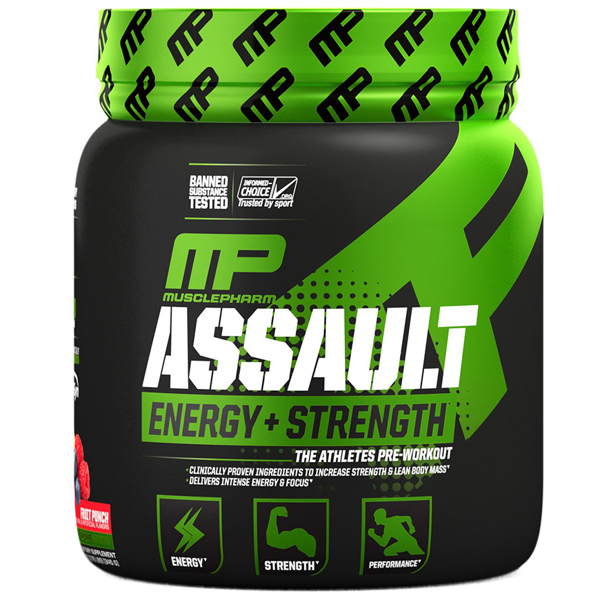 Muscle Pharm Assault אסולט מאסל פארם