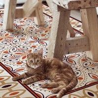 שטיח פי.וי.סי קינמון  TIVA DESIGN קיים בגדלים שונים