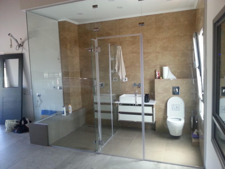 מחיצה חדר מקלחת 8
