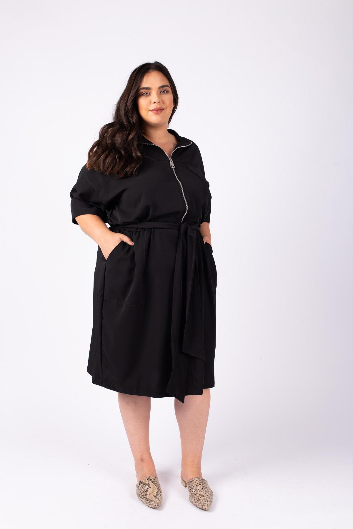 שמלת ג'ואנה שחורה