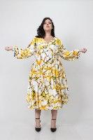 שמלת אייבי מודפסת