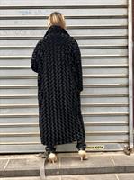 מעיל ברונו דמוי פרווה