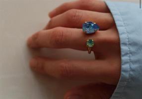 טבעת קייט זהב