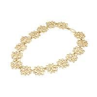 ענק קשקוש פרחים מצופה זהב נועה טריפ noa tripp