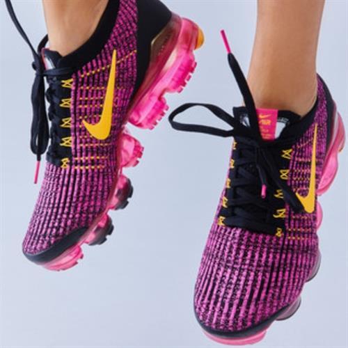נעלי נשים נייק וופורמקס סרוג צבע וורוד/כתום/שחור דגם AJ6910-600