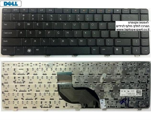 החלפת מקלדת למחשב נייד דל DELL INSPIRONN 4030 / N5030 / M5030 / N3013 Laptop Keyboard NSK-DJD01, NSK-DJH1D, 04DP3H