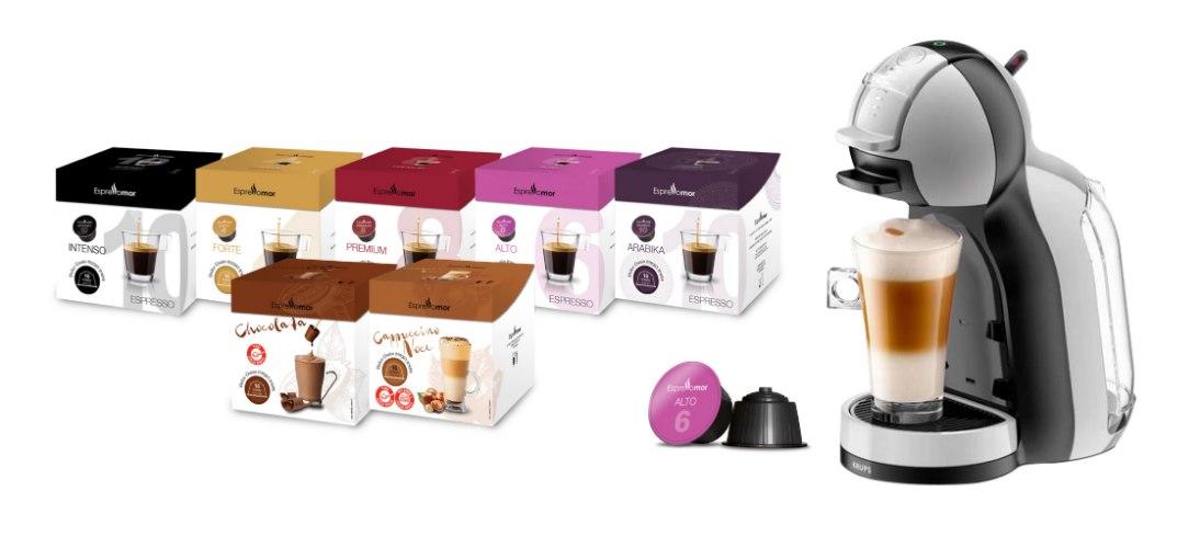 מכונת Nescafe Dolce Gusto -Mini me  ו-112 קפסולות תואמות