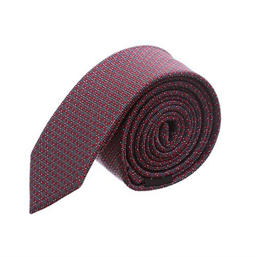 עניבה קלאסית מרובעים אדום