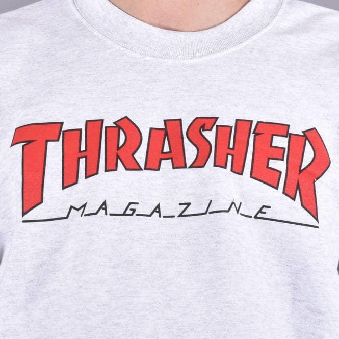 THRASHER OUTLINED CREWNECK