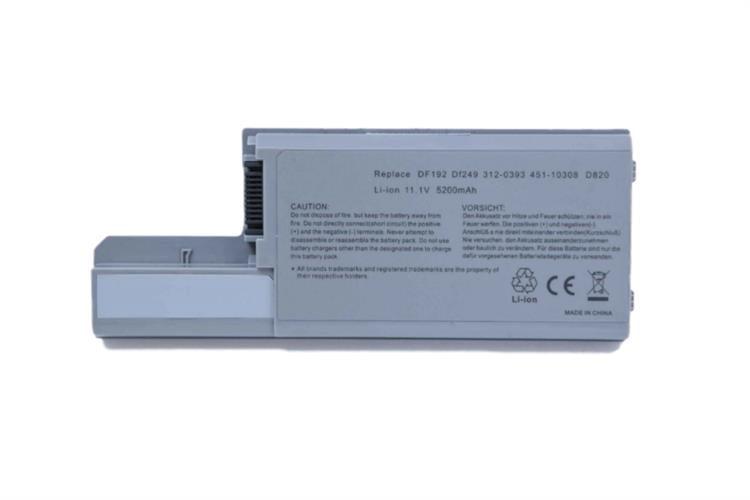 סוללה חליפית למחשב נייד Dell D820
