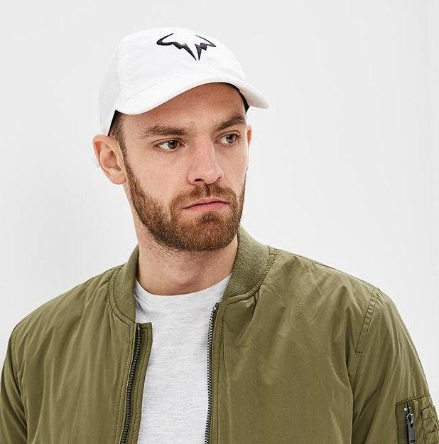 NIKE H86 RAFA NADAL CAP WHITE
