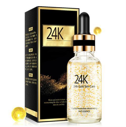 24K Gold Essence Anti Wrinkle Anti-aging Firming Repair Skin Face Essence Serum
