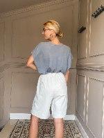 מכנסי CLASSIC קצרים - אבן